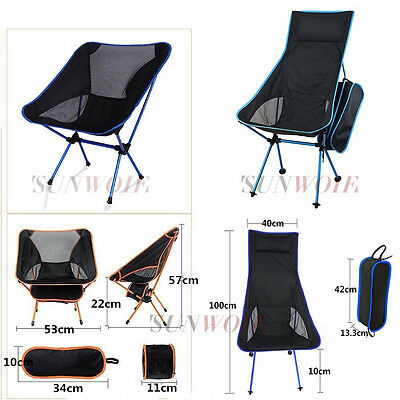 Holiday Potable Table Folding Fishing Chair Mini Chair Outdoor Camping Hiking US
