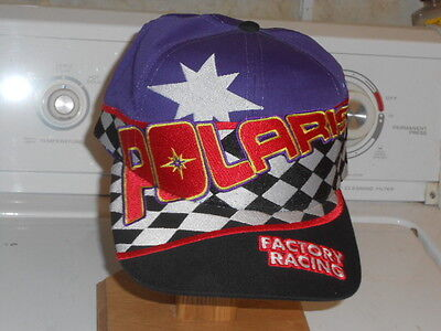 Polaris Factory Racing Snowmobile Team? Baseball Style Hat