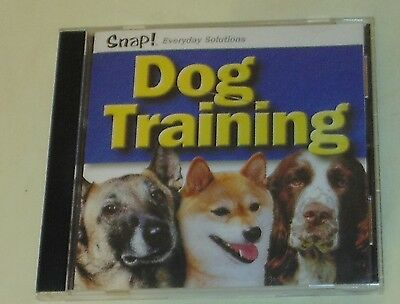 Snap Every Day Solutions Dog Training PC CDROM 2001 for Windows up to XP EUC