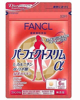 FANCL Perfect Slim α 180TABLETS x 1 (30days) Supplement