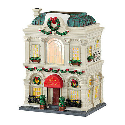 Department 56 Christmas in the City - THE GRAND HOTEL - New 2015 FREE SHIPPING