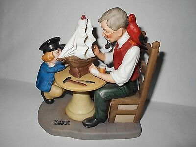 """Norman Rockwell  """" The Shipmaker """""""