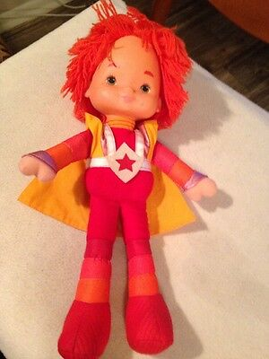 "Vintage 1983 RED BUTLER 15"" Doll Rainbow Brite Mattel/Hallmark Emotions #G 2535"