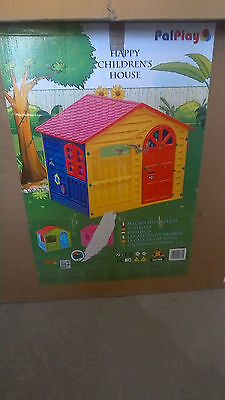 Pal Play Happy Childrens House Ideal For Garden