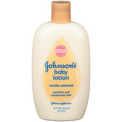 Johnson Baby Vanilla Oatmeal Lotion 15 Oz Baby Skin Care Grooming