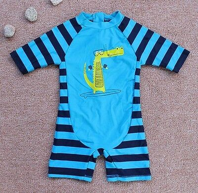 Infant Baby Boys Sunsuits One Piece Striped Swimwear 6-9M 9-12m 12-18m