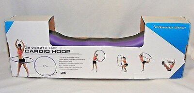 NEW Fitness Gear 3lb weighted Cardio Hoop