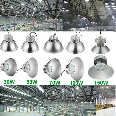 LED High Bay Light Bright White Fixture Warehouse Factory Industry Shop Lighting