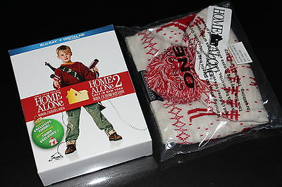 Blu Ray Home Alone Collectible Toque+Blu Ray Box (No Movie Included-See Photo)