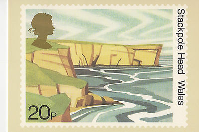 GREAT BRITAIN -  STACKPOLE HEAD - POST CARD PHQ52(c) - 1981