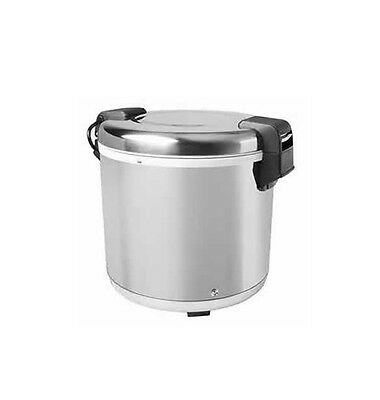 100 CUP Electric Commercial Rice Warmer / 21 Liters Stainless Polished SEJ-22000