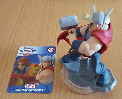 Disney Infinity 2.0 Thor Character Figure + Game Card