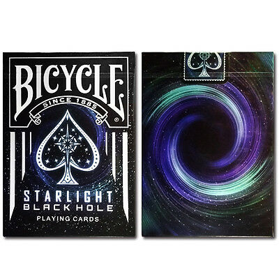 Starlight Black Hole Bicycle Deck Of Playing Cards By Collectable Magic Tricks