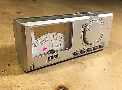 GREAT CONDITION KORG OT-12 ORCHESTRAL TUNER-Lightly Used Condition