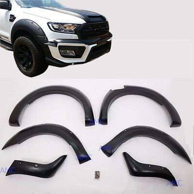 """Fit 2015-17 Ford Ranger Face Lift Fender Flare 6"""" Wheel Arch Off-road Wildtrack"""