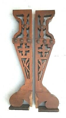 Vintage Corbels Entryway Mantles Mantels Wooden Brackets Interior Decor