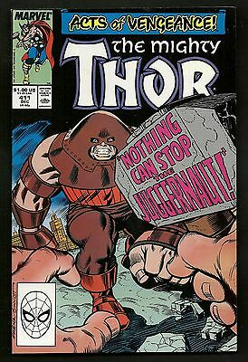 Thor 411 412/New Warriors 1 (Lot of 4) 1st New Warriors 1st & 2nd Print Variant