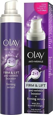 Olay Anti-Wrinkle 2 In 1 Firm & Lift Booster & Firming Serum  50Ml