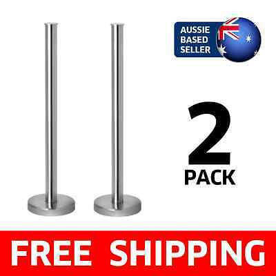 [2 PACK] Ikea Grundtal Stainless Steel Toilet Paper Roll Holder (Metal, Silver)