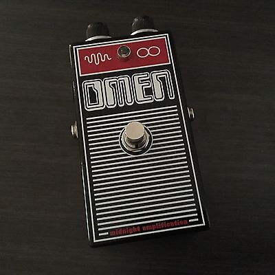 Midnight Amplification Devices - Omen Fuzz /  Distortion Guitar Pedal