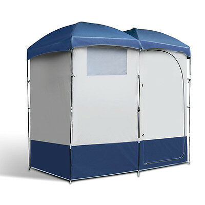 New Weisshorn Camping Shower Tent - Double