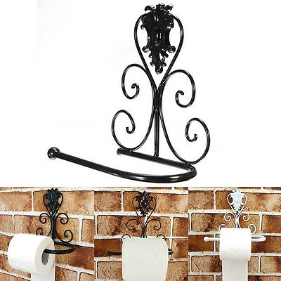 Luxury Oil Rubbed Bronze Wall Mounted Toilet Paper Holder Tissue Roll Holder NEW