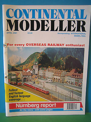 CONTINENTAL MODELLER APRIL 2001 # St STEPHAN SWISS HOm LAYOUT  SEE PICS