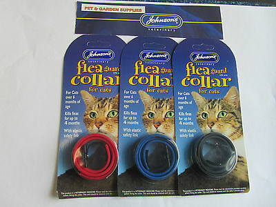 Johnsons Waterproof Cat Flea Guard Collar For Cats Kills Fleas For Upto 4 Months
