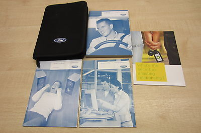 FORD FOCUS MK2 FACELIFT 2008-2011 Owners Manual Handbook & SERVICE BOOK Pack
