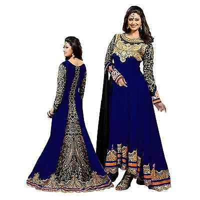 Indian Bollywood Ethnic Designer Anarkali Salwar Kameez Suit &Traditional