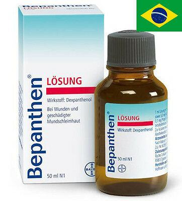 Bayer Bepanthen Liquid Solution 50 ml . Bepanthen Lösung Bepantol Vitamin B5