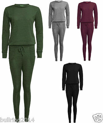 New Ladies Girs Lounge Wear Sweatshirt Joggers Set Fine Tracksuit Pants 7 to 13