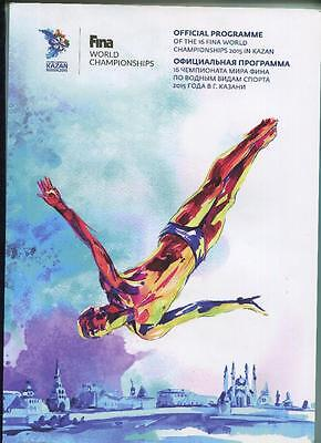 3! - programme + guide + ticket FINA World CUP Championship 2015 Kazan Russia