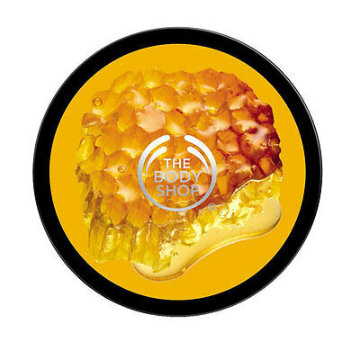 SALE - Body Shop's Iconic HONEYMANIA™ BUTTER 400ml - Sweet, Floral, Honey Scent