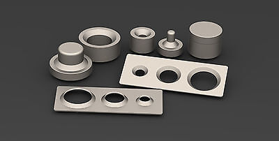 Dimple dies set 0.5 1.0 1.5 2.0 tool offroad fabrication drift race car 4x4 jeep