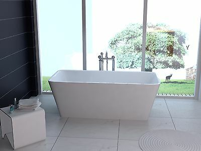 1700 x 750 mm Free Standing Roll Top Bath, one piece Free Delivery UK