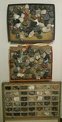 Rocks, Minerals and Ores Collections