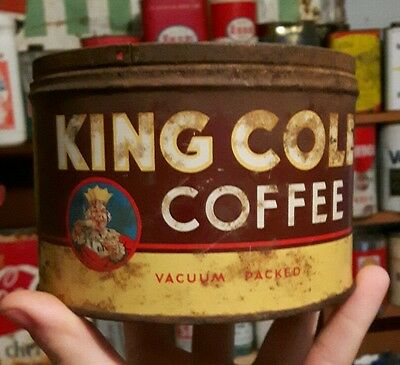 king cole coffee old can