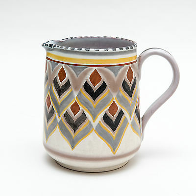 A Large and Unsusual Carter Stabler Adams Poole Jug c1930 Ruth Paveley