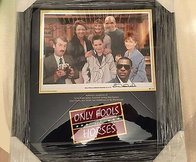 Only Fools And Horses Framed Original Autograph Display