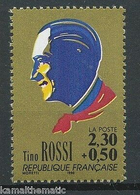 Tino Rossi, Corsican French Singer, Actor, Music, France 1990 MNH  - M15