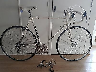 Velo route randonneuse vintage BACO HURET JUBILEE CAMPAGNOLO STRONGLIGHT road