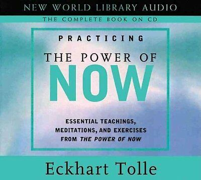 Practicing the Power of Now by Eckhart Tolle 9781577314172 (CD-Audio, 2003)
