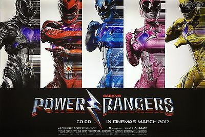 POWER RANGERS GO GO ALL COLLAGE  11x17 MINI MOVIE POSTER COLLECTIBLE