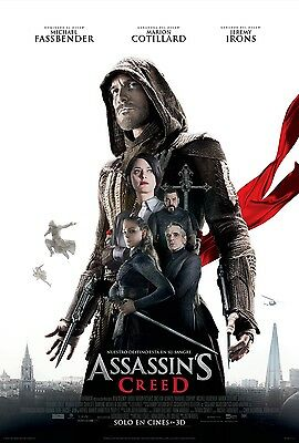 ASSASSINS CREED RED FLAG 11x17 MINI MOVIE POSTER COLLECTIBLE
