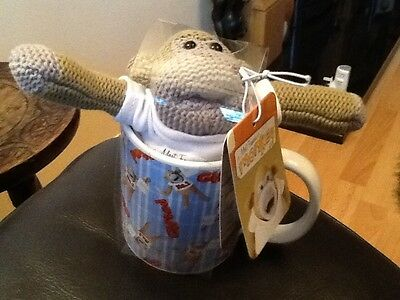 PG TIPS Mug & Most Famous Monkey Soft Toy with packaging and tag BRAND NEW