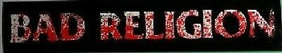 Bad Religion New Maps of Hell Rare Promotional Sticker FREE SHIPPING!!!
