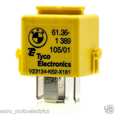 Relay - Horn / Various Switches, BMW R Airhead & Oilhead / 61 36 1 389 105 /Tyco