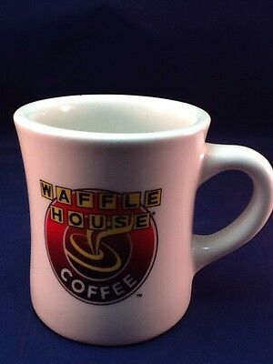Waffle House Heavy Ironstone Classic Diner Style Coffee Tea Mug Cup