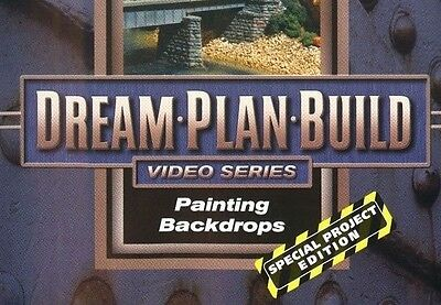 Painting Backdrops DVD 73117D Dream Plan Build Special Project Edition Clouds EX